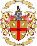 Burrus Family Crest from England