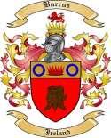 Burrus Family Crest from Ireland