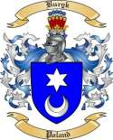 Buryk Family Crest from Poland