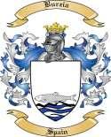 Burzia Family Crest from Spain