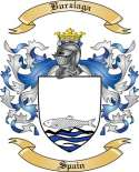 Burziaga Family Crest from Spain