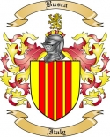 Busca Family Crest from Italy