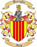 Buscaglia Family Crest from Italy