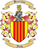 Buscaino Family Crest from Italy