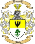 Buscemi Family Crest from Italy2