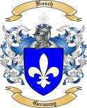 Busch Family Crest from Germany