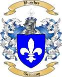 Buscher Family Crest from Germany