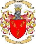 Buselli Family Crest from Poland