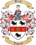 Bushe Family Crest from England2