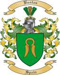 Bustos Family Crest from Spain