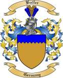 Butler Family Crest from Germany