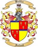 Buttler Family Crest from Ireland