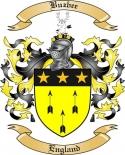 Buzbee Family Crest from England