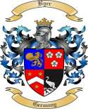 Byer Family Crest from Germany