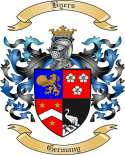 Byers Family Crest from Germany
