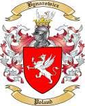 Bynarowicz Family Crest from Poland