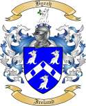 Byrch Family Crest from Ireland