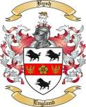 Bysh Family Crest from England2