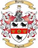 Bysshe Family Crest from England2