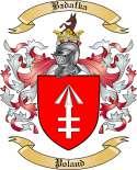 Bzdafka Family Crest from Poland