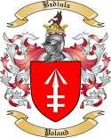 Bzdiula Family Crest from Poland