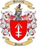 Bzdzialik Family Crest from Poland