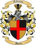 Cabanas Family Coat of Arms from Spain
