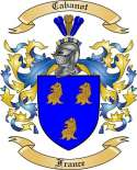 Cabanot Family Coat of Arms from France