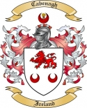 Cabenagh Family Crest from Ireland
