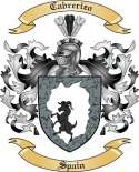 Cabrerizo Family Coat of Arms from Spain
