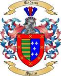 Cadena Family Coat of Arms from Spain2