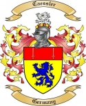Caessler Family Crest from Germany