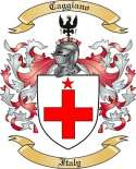 Caggiano Family Crest from Italy
