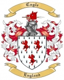 Cagle Family Crest from England
