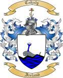 Cahaly Family Coat of Arms from Ireland