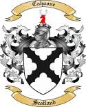 Cahoone Family Crest from Scotland
