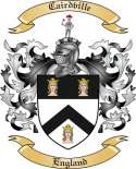 Cairdville Family Crest from England