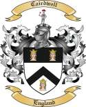 Cairdwell Family Crest from England