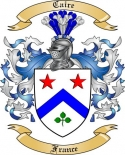 Caire Family Crest from France