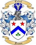 Cairel Family Coat of Arms from France