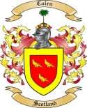 Cairn Family Crest from Scotland