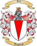 Cal Family Coat of Arms from England