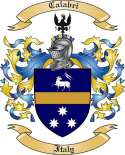 Calabri Family Coat of Arms from Italy