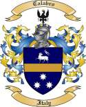 Calabro Family Crest from Italy