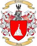 Calcari Family Coat of Arms from Italy