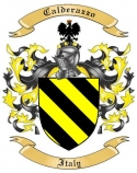 Calderazzo Family Crest from Italy