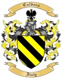 Caldero Family Coat of Arms from Italy
