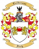 Calderone Family Coat of Arms from Italy