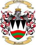 Caldewell Family Coat of Arms from Scotland