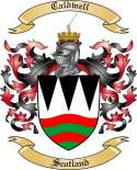 Caldwell Family Coat of Arms from Scotland